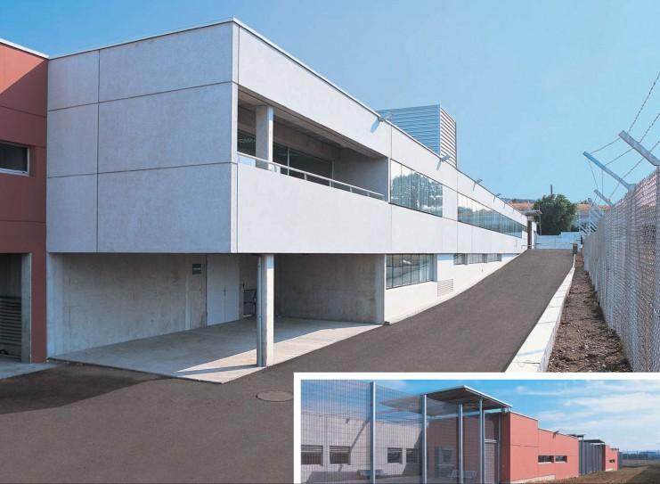 apc architectes patrice chabbert centre de r tention administrative a roport de toulouse. Black Bedroom Furniture Sets. Home Design Ideas